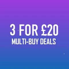 3 For £20 Multi Buy High VG Liquids