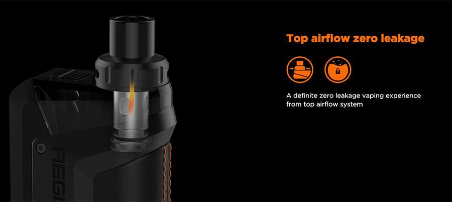 Top Airflow and Zero Leakage
