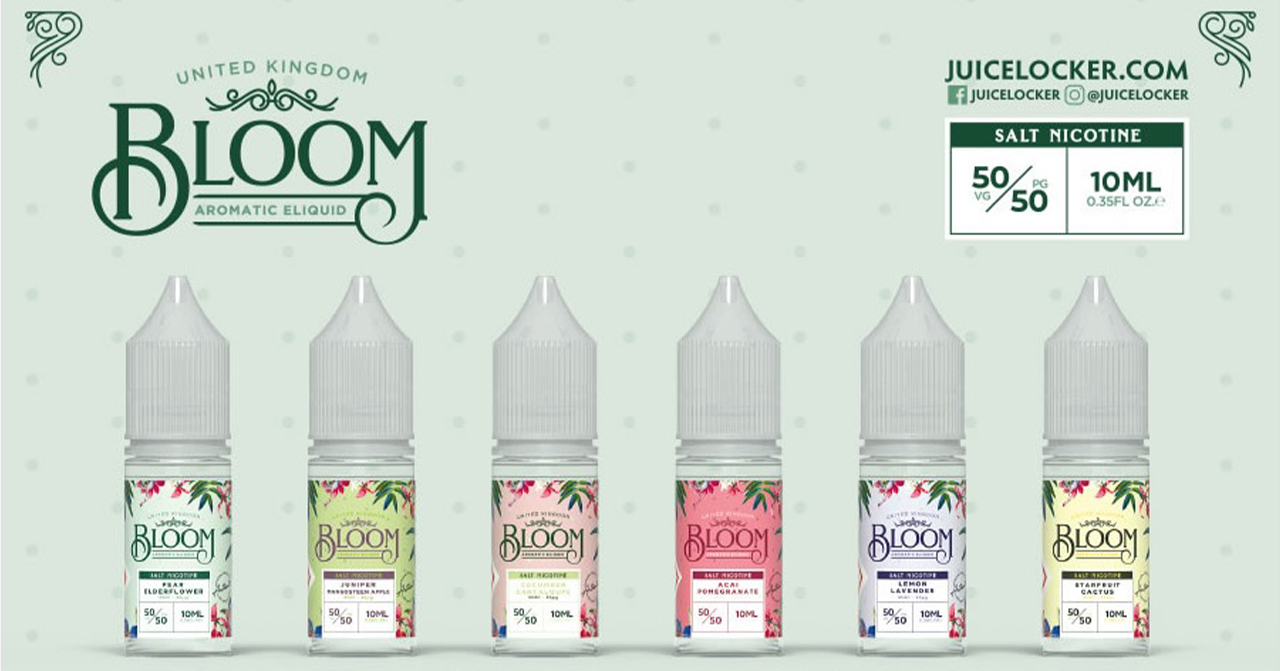 Blooms Vape Juice E-Liquids Banner