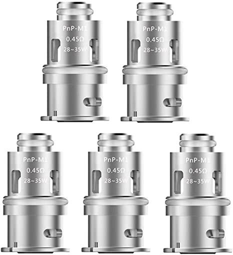 Voopoo Vinci - PnP-M1 0.45ohm Coils - 5 Pack