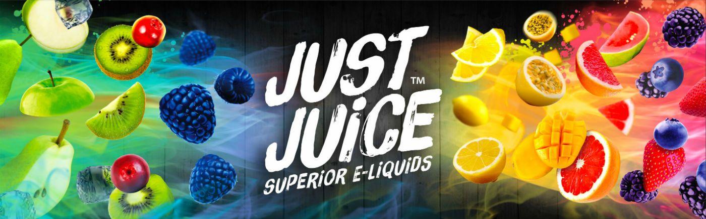 Just Juice liquids banner
