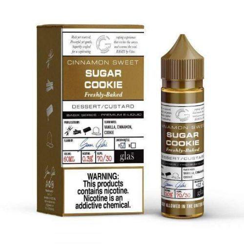Glas - Sugar Cookie 50ml 70/30 VGPG Vape Juice